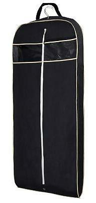 "MISSLO 43"" Gusseted Travel Garment Bag with Accessories Zipp"