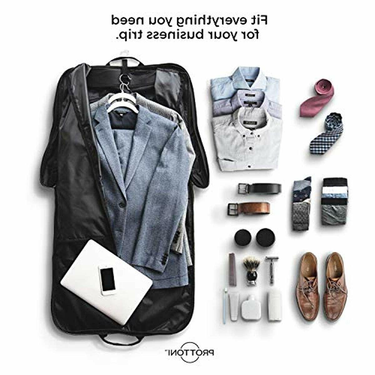 """PROTTONI 44"""" with Shoulder Carry On Suit - in Hook"""