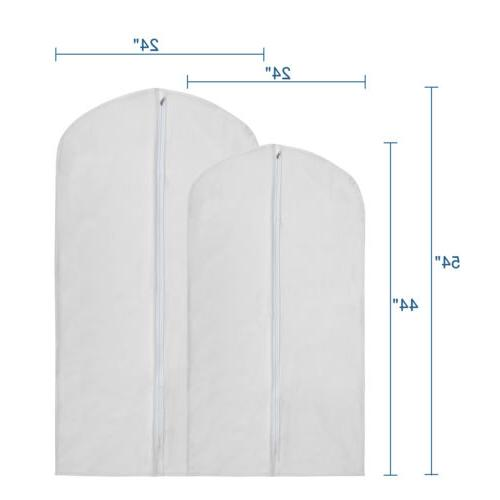 10pcs Transparent Garment Suit Dress Dust Cover
