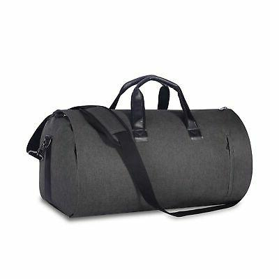 Carry-on Garment Bag Large Duffel Bag Water Resistant Suit T
