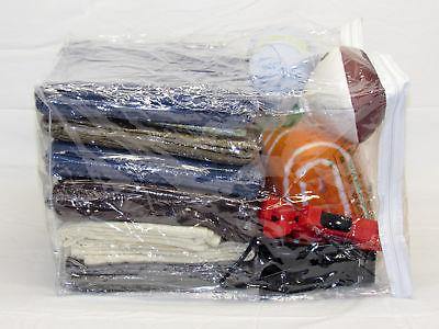 Clear Zippered Storage Bags x x 12 5-Pack