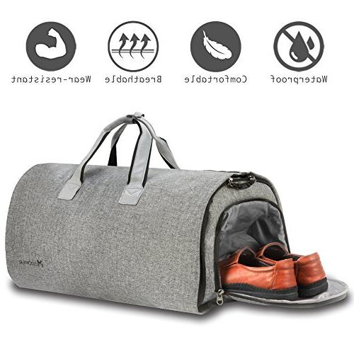 Convertible Shoulder Carry on 2 in Hanging Suitcase Bags