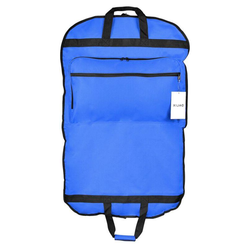 DALIX Garment Carry On for Dresses Foldable Pockets