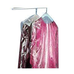 "Dry Cleaning Poly Garment Bags 40"" Clear- 440 bags/roll"