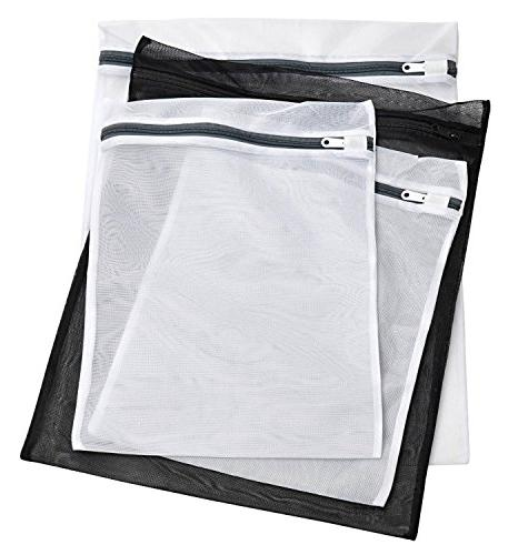 Laundry Lingerie Bags - 4 PACK - Multi-Size Washing Bags wit