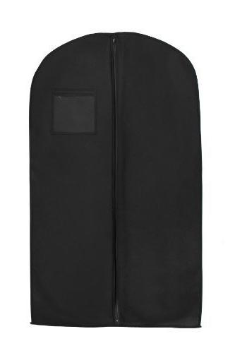 "New Breathable 54"" Suit/Dress Black Garment Bag by BAGS FOR"