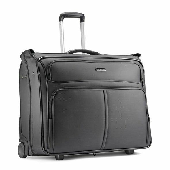 Samsonite Leverage LTE Rolling Garment Bag-Color Charcoal