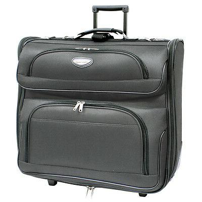 "Travel Select Amsterdam 23"" Dark Grey Upright Wheeled Roll"