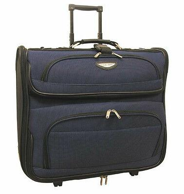 Travel Select Amsterdam 23? Navy Blue Upright Wheeled Rollin