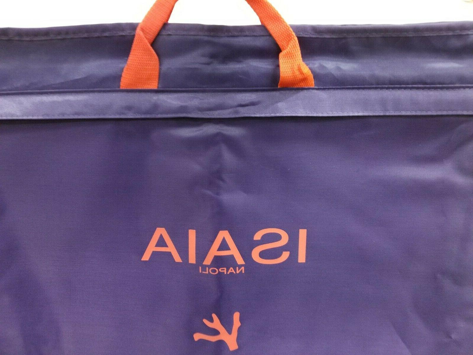 authentic garment bag new purple and red