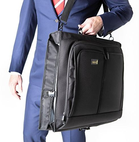 best garment bag black carry on suit