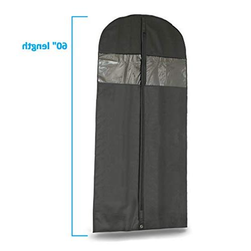 Bags Breathable Storage of Dresses & Costumes, Zipper Transparent