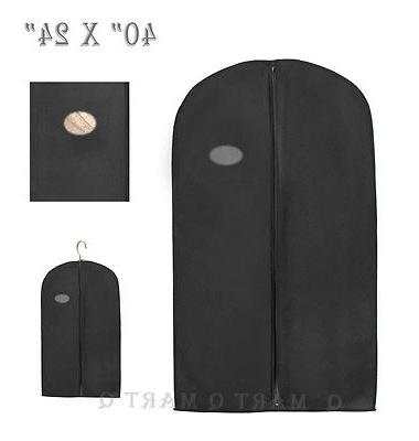 black suit dress garment storage