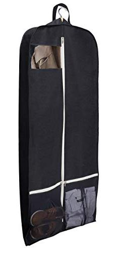 "Sleeping Lamb Breathable 60"" Dress Garment Bag with Zipper S"