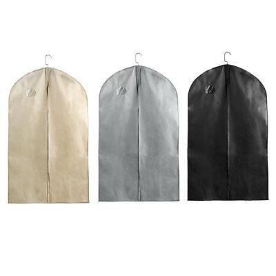 foldable zipper travel garment suits bag cloth