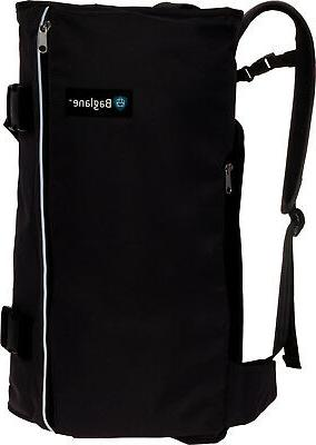 canvas hybrid commuter travel backpack carry on