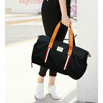 Canvas Suit Garment Carry On Weekender Gym Sports Bag