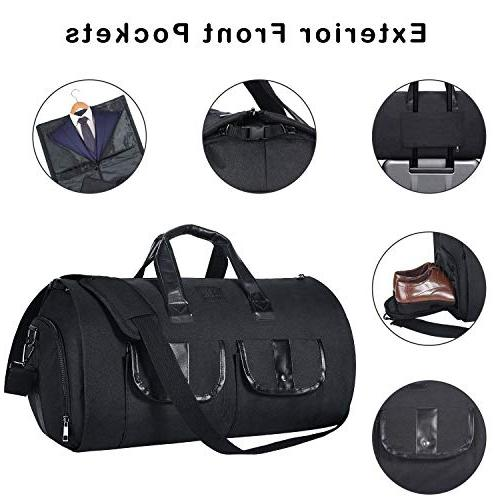 Carry-on Duffel Bag Bag Bag with Shoe for Black2