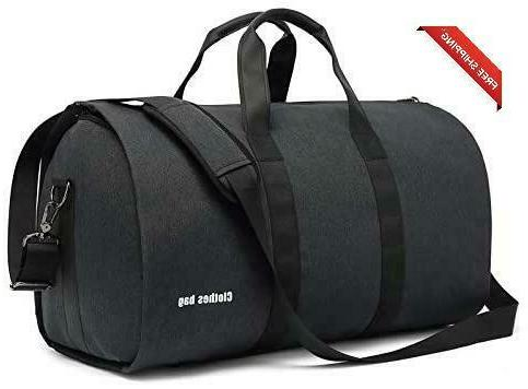 Carry On Garment Bags Augur Suit Travel Duffel Bag With Shoe