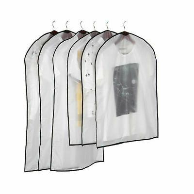 clear dust proof dress clothes cover suit