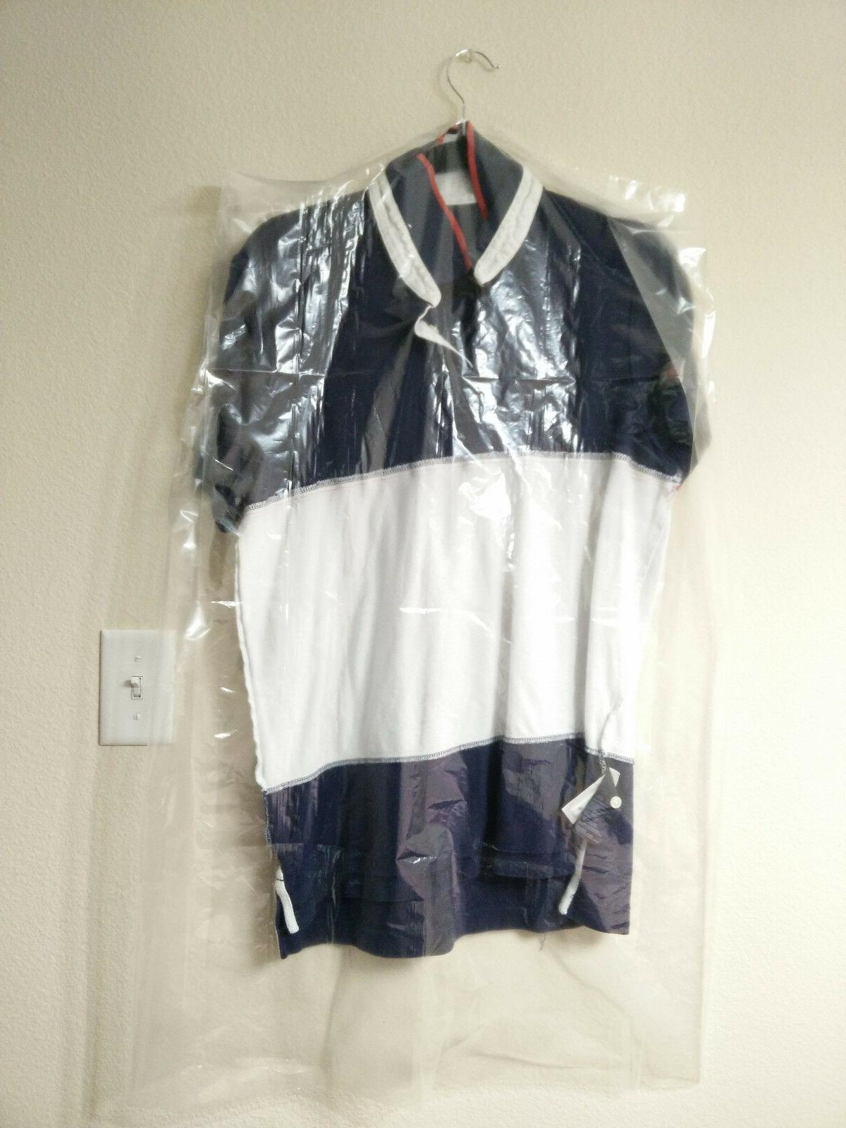 clear poly garment bags dry cleaning laundry