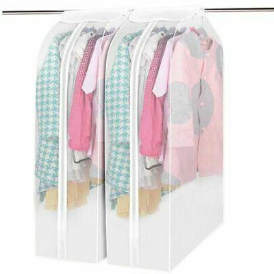 Hanging Clothes Cover Bag Dust Cover Closet Garment Dustproo