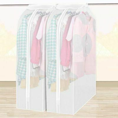 Hanging Garment Clothes Cover Bag Dust Cover Closet Dustproo