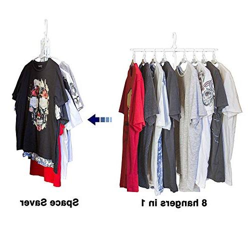 collapsible innovative folding hanger