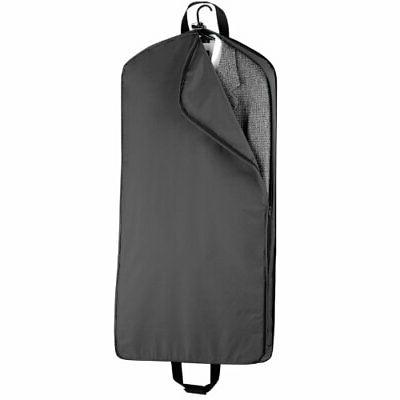 WallyBags Garment with Pockets, Black,