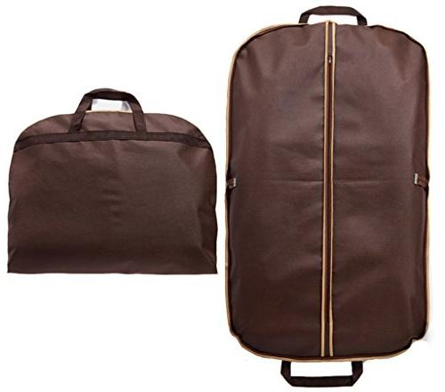 folding suit garment bag cover