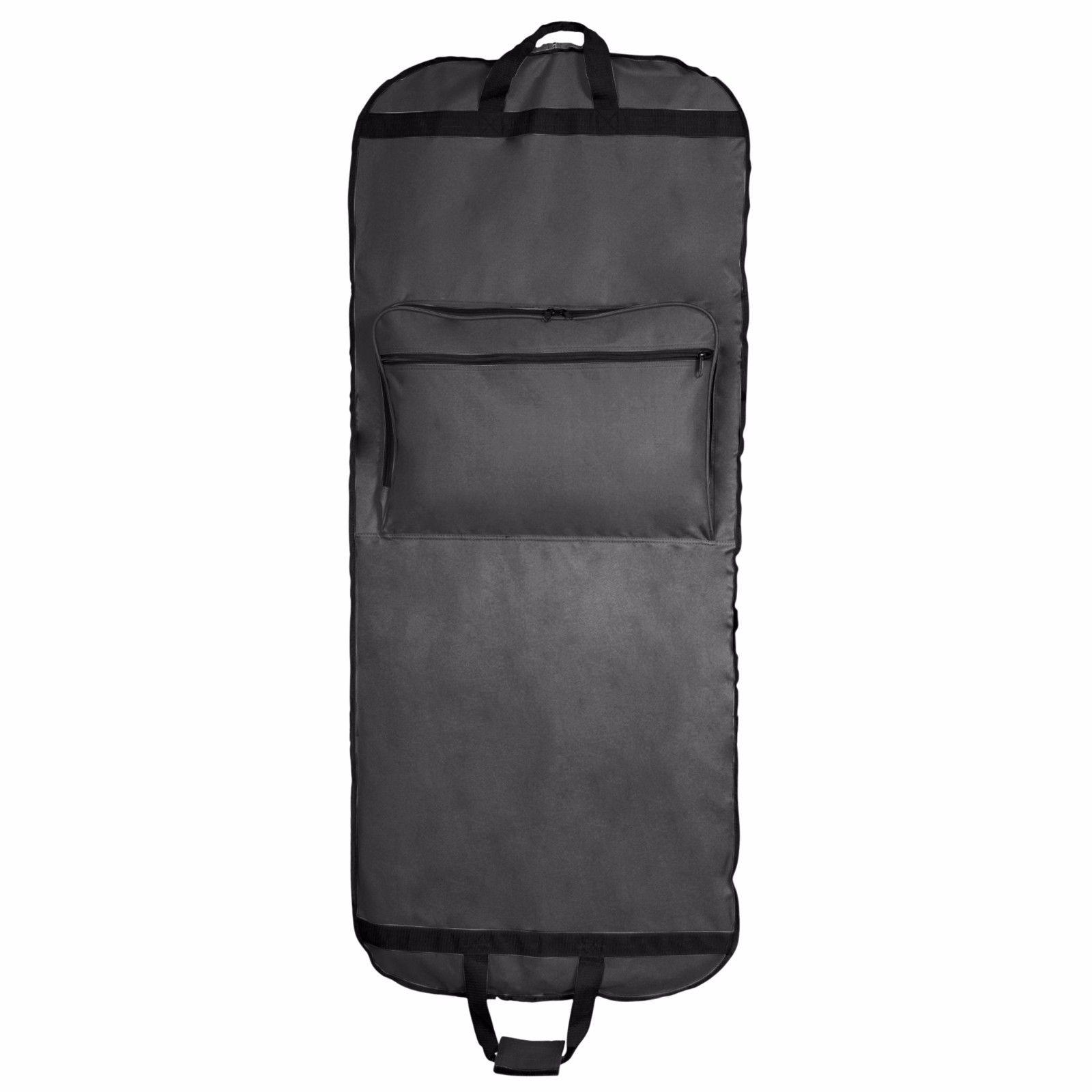 DALIX Professional Garment Bag Pants Gowns Dresses Fold Black