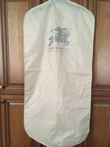garment bag suit trench protector tan large