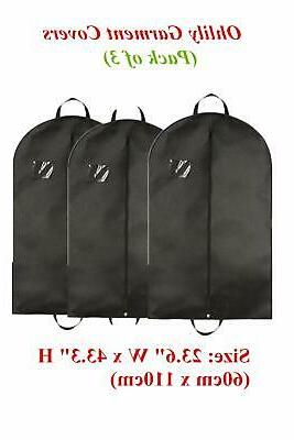 Garment Bags Clothes Suit Dress Hanging Dust Cover Storage