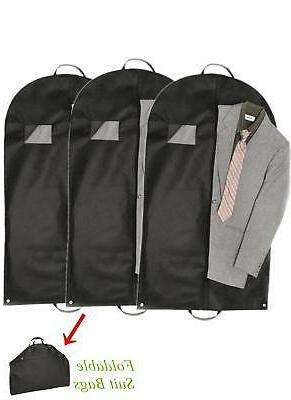 garment bags clothes suit dress hanging travel