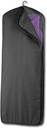 "Wally Bags 60"" Gown Length Garment Cover Black"