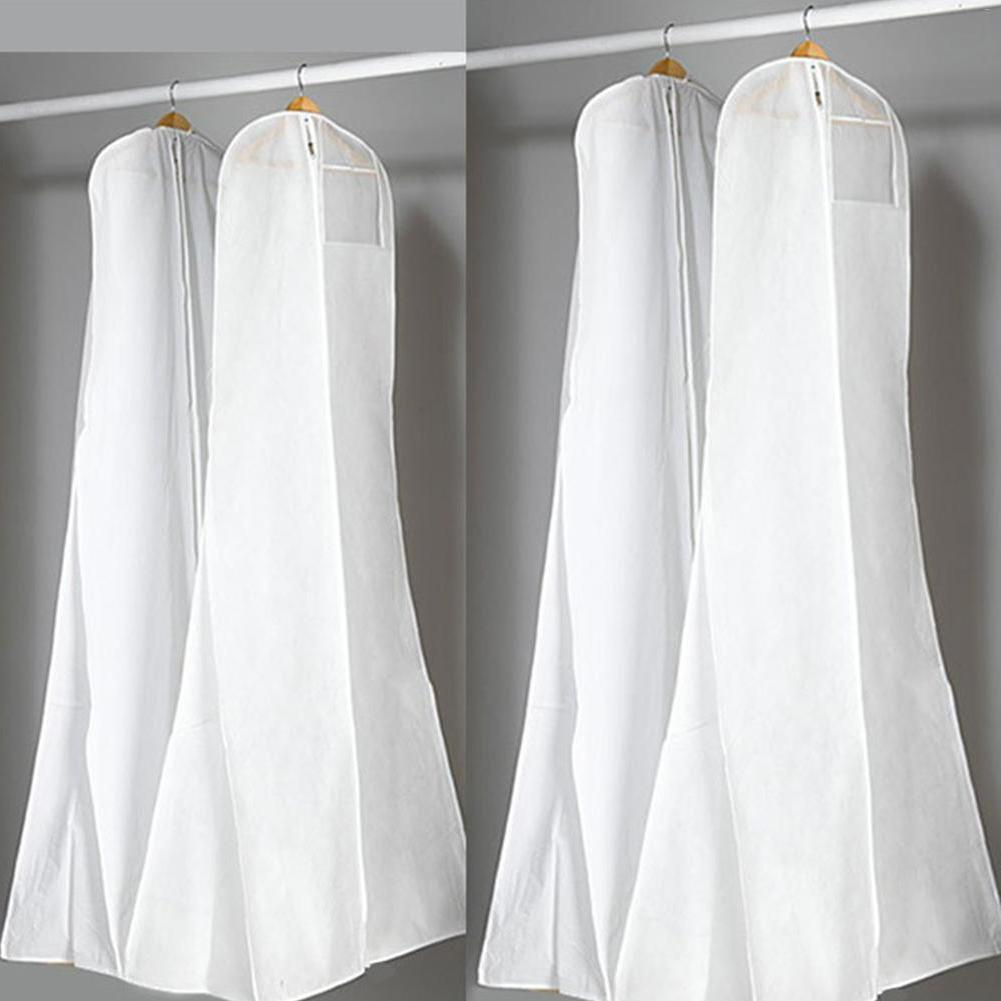 Large <font><b>Garment</b></font> Bridal Long Clothes Wedding <font><b>Dress</b></font> Cover Covers Wedding