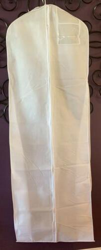 Lg Bridal Gown GARMENT BAG breathable Wedding Gown Pagent Pr