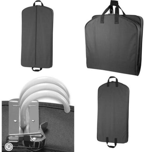luggage 40 garment bag black