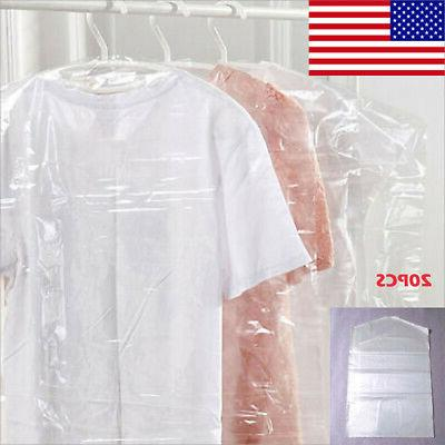 new 20pc plastic clear dust proof cover