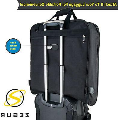 NEW Garment Bag For and Business Trips Shoulder Strap