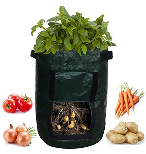 Cinhent Bag Newly Home & Tomatoes Eco-Friendly for Plant Indoor, Thicken Planting Big Home Farm Planting Bag