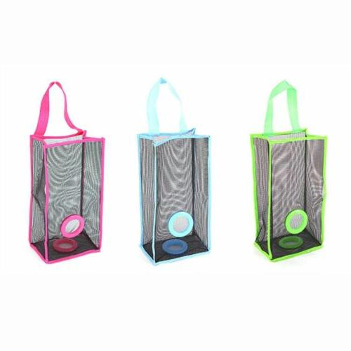 Garbage Kitchen Hanging PVC Breathable Mesh Shopping Storage