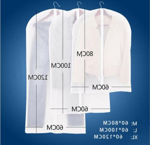 plastic clear dust proof cloth cover suit