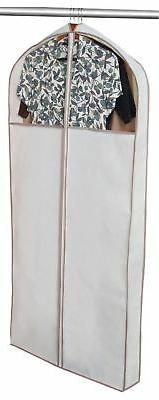 PRO-MART DAZZ Gusseted Dress Garment Bag, Beige