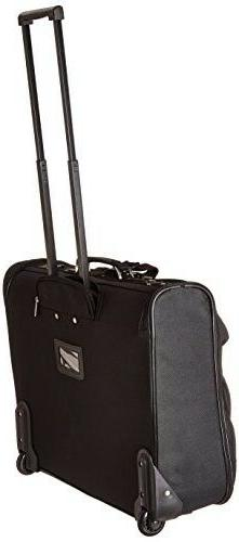Rolling Luggage Garment Non Black 23 in.
