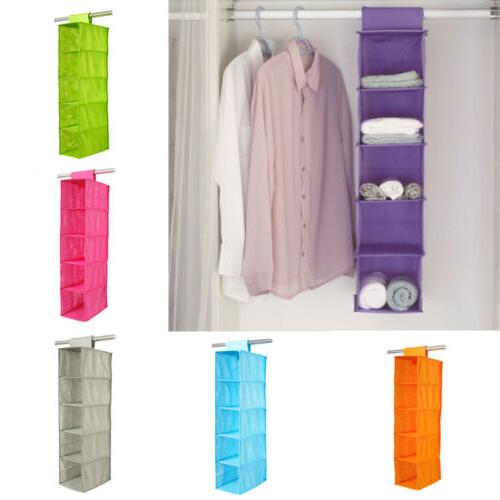 Shoes Garment Organiser Rack Pocket Stand Holder Wardrobe Ha