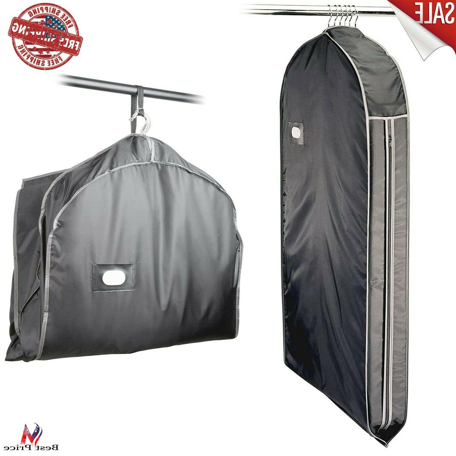 solid garment travel bag suit with organizer