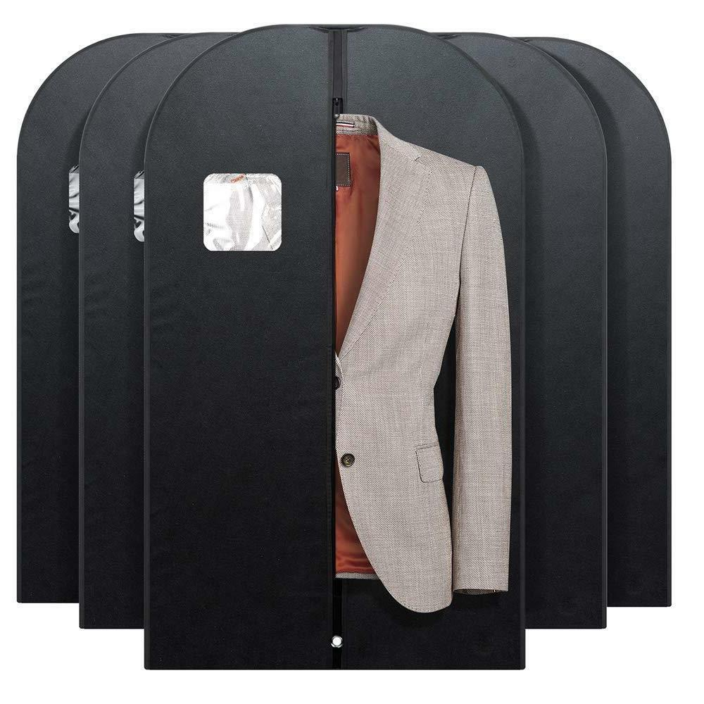 Suit Garment for Covers w/ Clear Window 5PACK