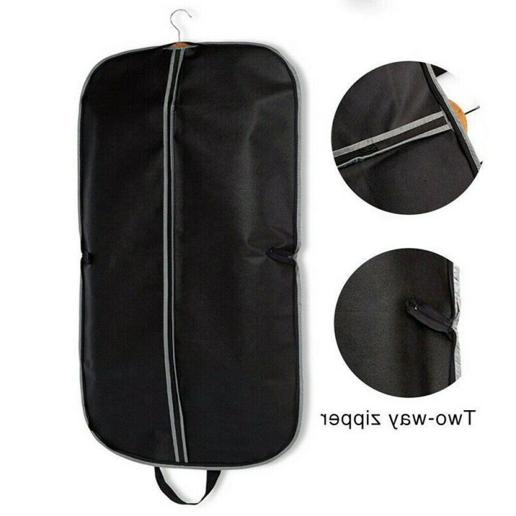 Foldable Zipper Travel Garment Suits Bag Dress Coat Storage