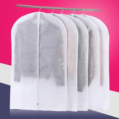 dust proof garment cover white lightweight clothes